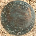 Image for The State of Maryland Offical Survey Mark - College Park, MD