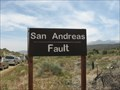 Image for San Andreas Fault Sign - Pearblossom, CA