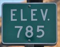 Image for US Highway 2 ~ Elevation 785 Feet