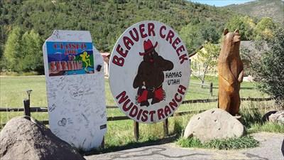 Above Beaver creek nudist ranch