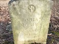 Image for Tobias Mosier - Rob Roy Cemetery, Fountain County, IN
