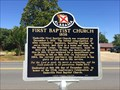 Image for First Baptist Church 1838 - Dadeville, Alabama