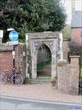 Image for Greyfriars Franciscan Friary Arch - Friars Walk, Lewes, UK