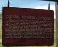 Image for Old Trail to the Gold Diggins, Lima, Montana