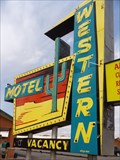 Image for Historic Route 66 - Western Motel - Sayre, Oklahoma, USA.
