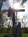 Image for Crucifixion Scene - Tyrone Cemetery - Tyrone Township, Michigan