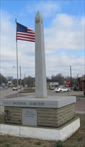 Image for DAR-VFW Obelisk -- Fort Scott KS