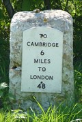 Image for Milestone - Cambridge Road, Sawston, Cambridgeshire, UK.