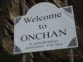 Image for Welcome to Onchan Ta Kiondroghad Bannaghey Nyn Mea - Onchan, Isle of Man
