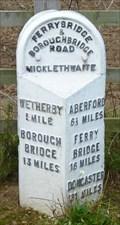 Image for Milestone - Boston Road, Wetherby, Yorkshire, UK.