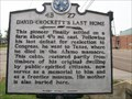 Image for David Crockett's Last Home