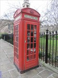Image for Red Telephone Box - Trinity Church Square, London, UK