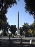 Image for Pinciano Obelisk, Piazza Bucharest, Villa Borghese, Rome