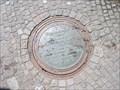 """Image for """"3 Stelen Brunnen"""" manhole cover - Buchholz (Nordheide), Germany"""