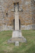 Image for Combined War Memorial, St.John the Baptist Churchyard, Upper Boddington, Northants.