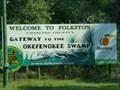 Image for Gateway to the Okefenokee Swamp - Folkston, Ga.