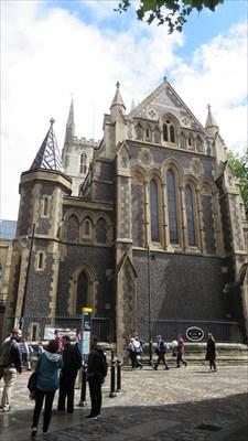 veritas vita visited Southwark Cathedral