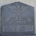 Image for Garden of Heroes Park / Jardin de Heroes -- Uvalde TX
