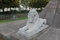 Image for Deux Sphinx  aux pieds de Mariette Pacha- Boulogne sur mer - France