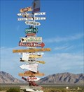 Image for Homemade Arrow Sign near Twentynine Palms, CA
