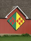 """Image for """"Flock of Geese"""" Barn Quilt – rural Lytton, IA"""