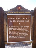 Image for Santa Cruz Plaza – On the Camino Real