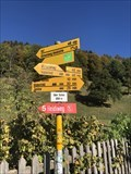 Image for Bicycle Network Distance Arrows - Heididorf, Switzerland