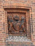 Image for Egerton Coat of Arms - Knutsford, Cheshire, UK.