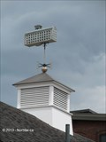 Image for Fall River Mill Weathervane on Bank - Fall River, MA