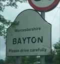 Image for Bayton, Worcestershire, England