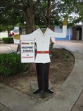 Image for Strawmarket Traffic Cop - Freeport, Bahamas