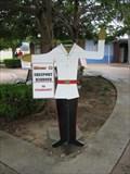 Image for Strawmarket Traffic Cop - Freeport, Bahamas