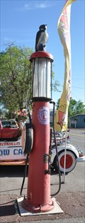 Image for Red Crown Gas Pump ~ Seligman, Arizona