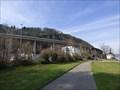 Image for FIRST suspension bridge made of prestressed concrete in Germany - Krahnenbergbrücke - Andernach, Rhineland-Palatinate, Germany