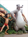 Image for Baloo &  Mowgli - Pop Century Resort, Disney World, Florida, USA.