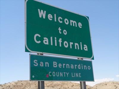 veritas vita visited I-40 CA/AZ Border