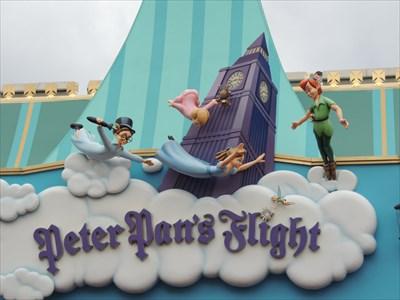 Peter Pans Flight - Disney Theme Park Edition - Florida, USA.
