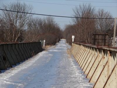 ice on the bridge