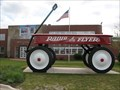 Image for World's Largest Wagon - Radio Flyer HQ, Chicago, IL