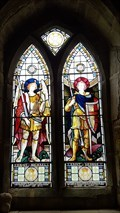 Image for John Clifford Chaplin window - St Mary - Burrough on the Hill, Leicestershire