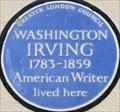 Image for Washington Irving - Argyll Street, London, UK
