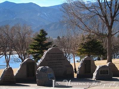 The freedom memorial at memorial park colorado springs - Memorial gardens colorado springs ...