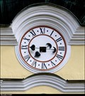 Image for Clocks of the Church of the Assumption of Virgin Mary / Hodiny kostela Nanebevzetí Panny Marie - Vranov nad Dyjí (South Moravia)