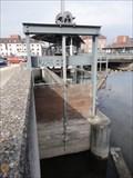Image for Sluice Gate Echaz ZOB Reutlingen, Germany, BW