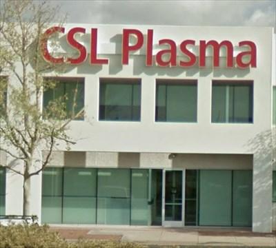 CSL Plasma on Butterfield Dr, Tucson, AZ - Blood Donation