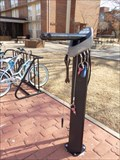 Image for UCO's West Hall Bike Repair Station - Edmond, OK USA
