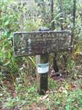 Image for Old NB AT sign at Iron Mountain Gap - TN/NC