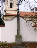 Image for Cross at southern wall of the Church of St. Peter and St. Paul in Petrovice