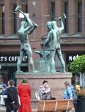 Image for Three Smiths Statue - Helsinki, Finland