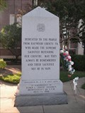 Image for Haywood County War Memorial - Brownsville, TN